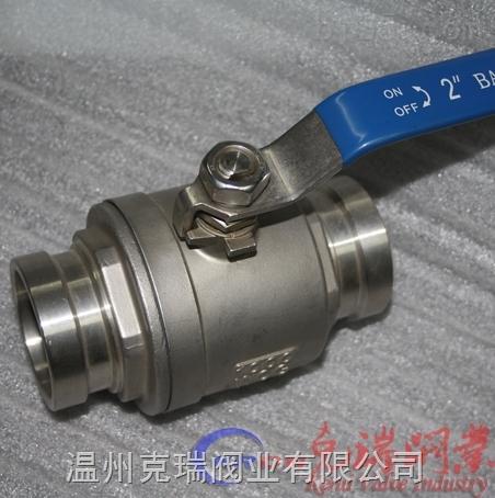 温州不锈钢304沟槽球阀图片