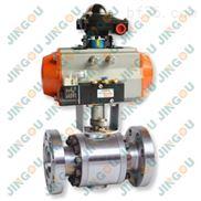 氣動高壓法蘭球閥,天然氣高壓球閥,耐高溫高壓球閥