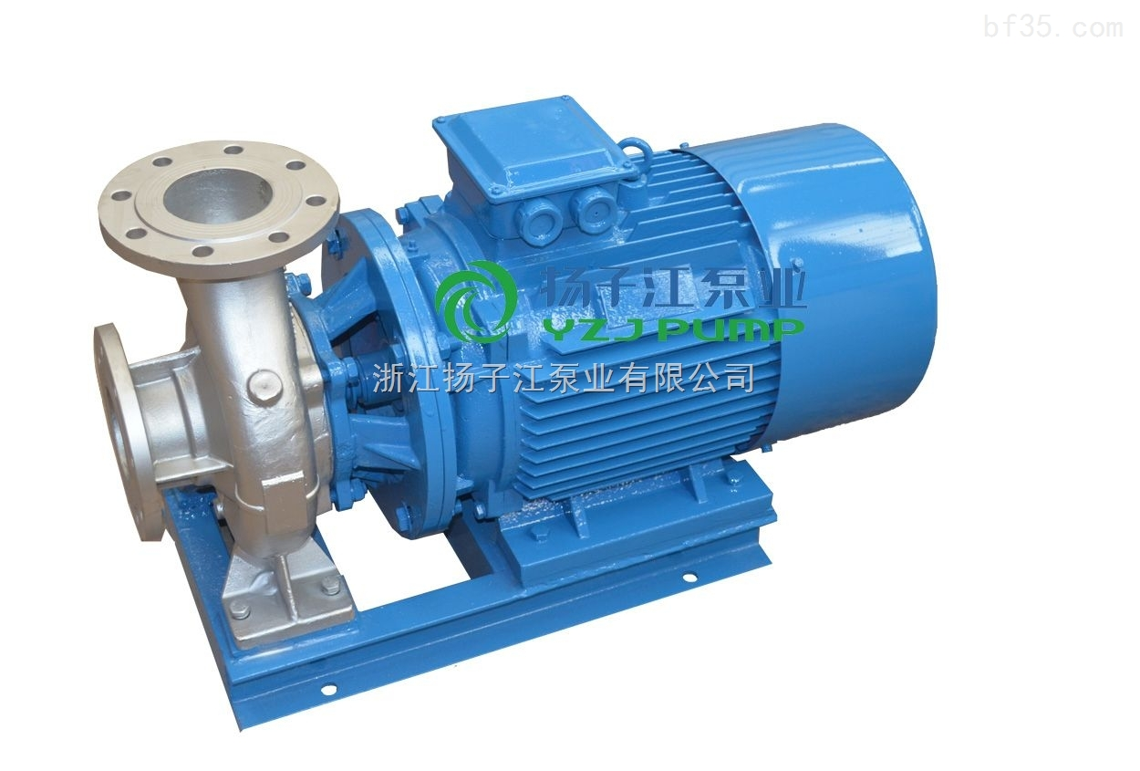 卧式清水管道泵,ISW型不锈钢卧式管道泵,卧式单级管道泵,卧式不锈钢化工泵