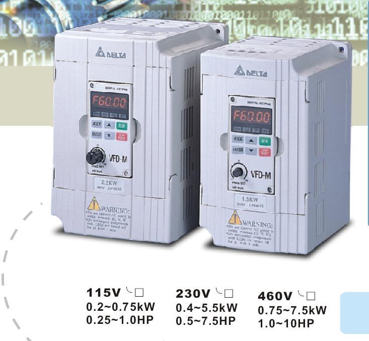 vfd015m43b elt台达变频器