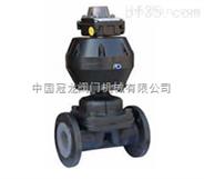 英标气动常开式隔膜阀 中国冠龙阀门机械有限公司