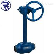 戎钛Q361F蜗轮加长杆全焊接球阀价格,加长杆双放散全焊接球阀厂家