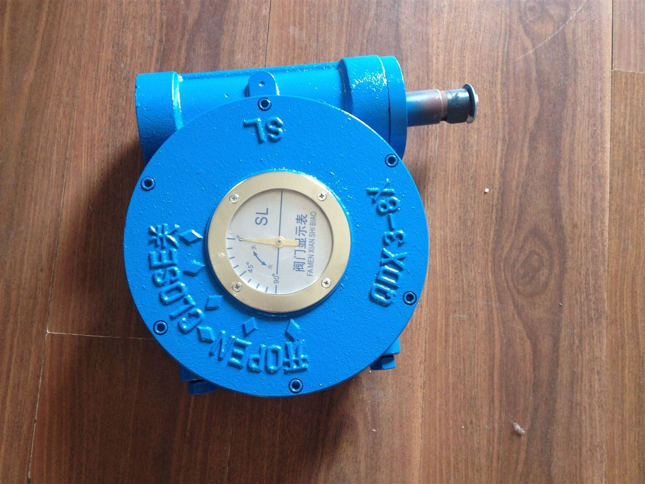 手动蜗轮执行器QDX3-6 QDX3-7 QDX3-8涡轮执行器