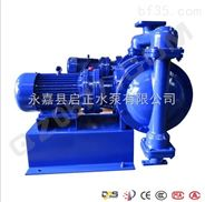 永嘉启正电动隔膜泵厂家直销DBY-100不锈钢电动隔膜泵