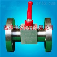 HG20592化工部锻钢法兰球阀DN32-50