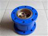 高品质生产HC41X法兰消声止回阀,水平管道消声止回阀厂家