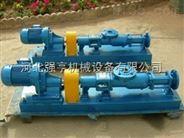 宜昌强亨G型不锈钢螺杆泵污水污泥专用螺杆输送泵厂家直销