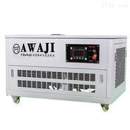 静音40千瓦汽油发电机四缸水冷机组
