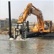 挖掘机安装泵 河道抽沙 清淤