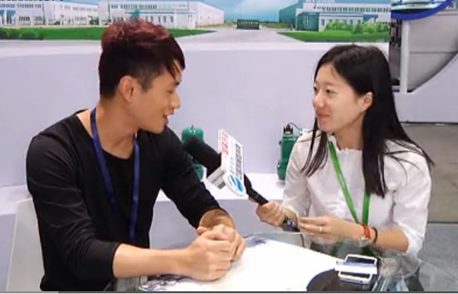2015环博会专访:上海人民企业(集团)水泵有限公司大区经理李斌