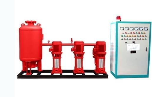 我区森林防火推广水泵串联技术