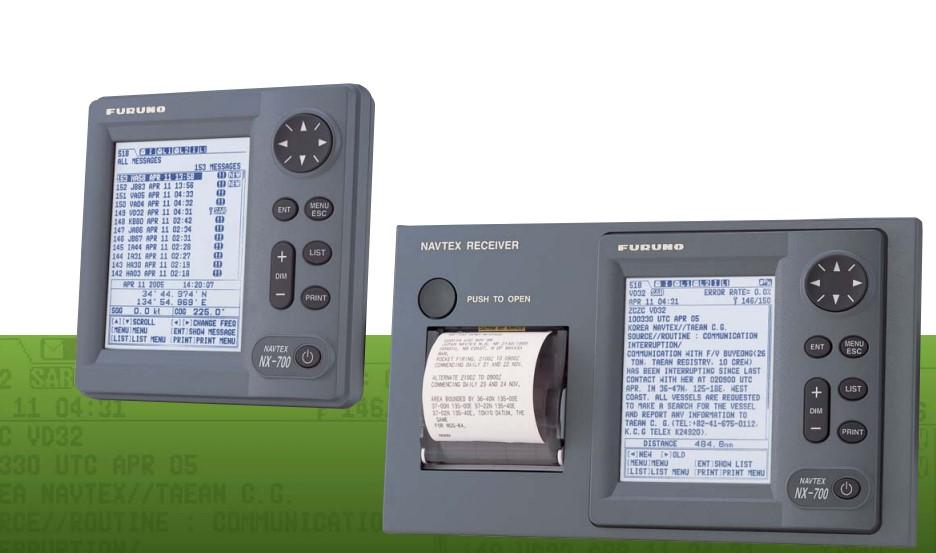 古野 NX-700航行警告接收机 NX-700B现货